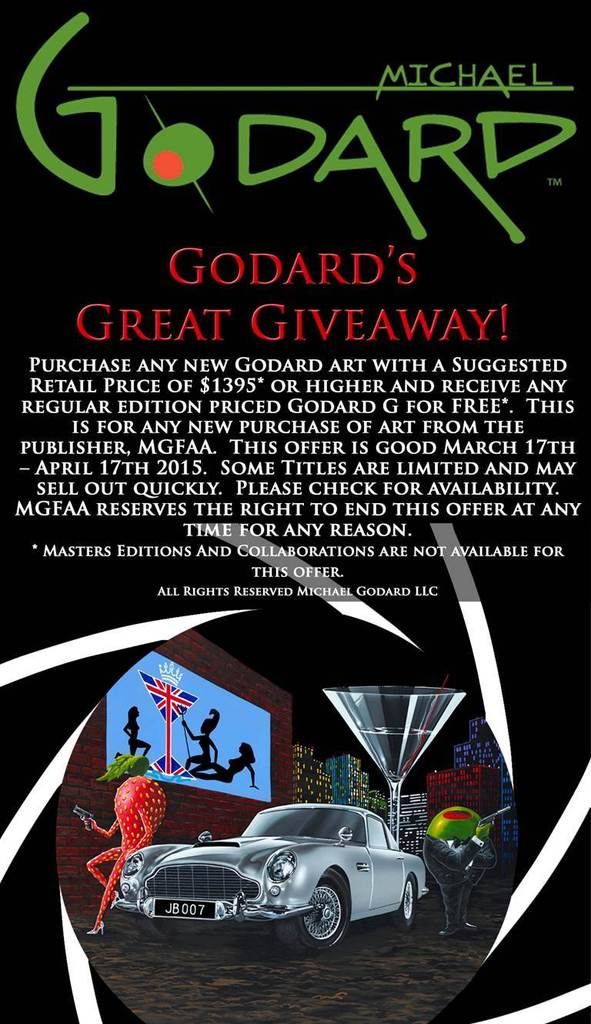 Godard's Great Giveaway!