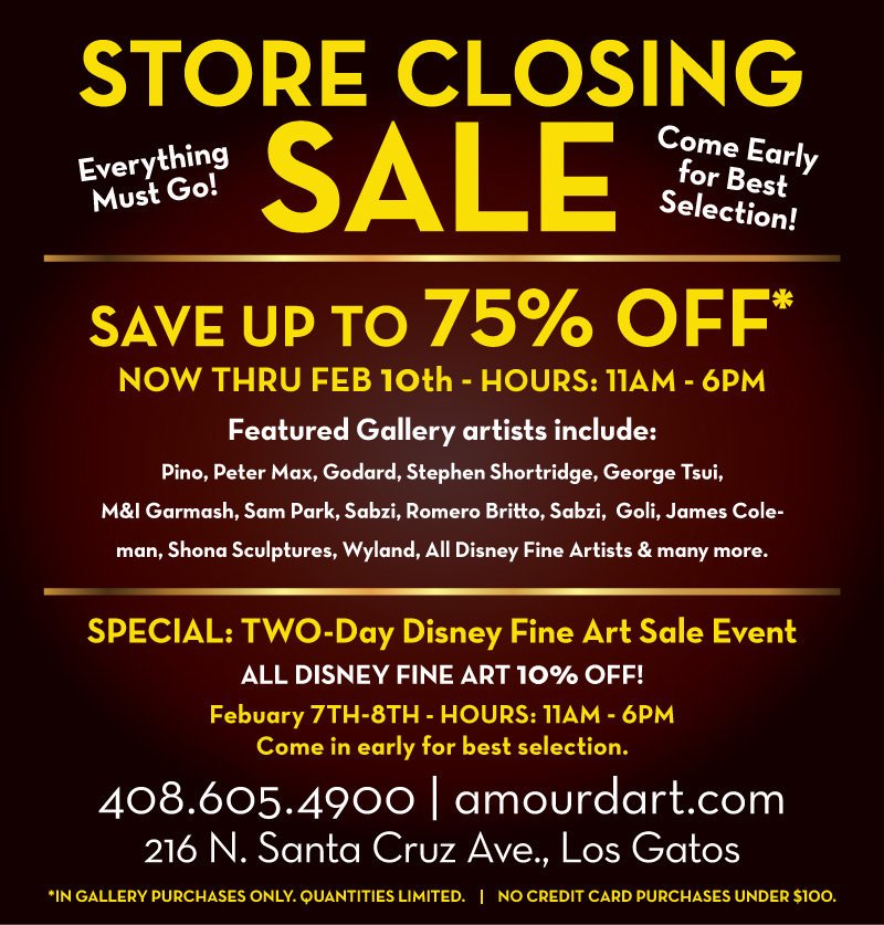Art Gallery Sale, Save up to 75% off