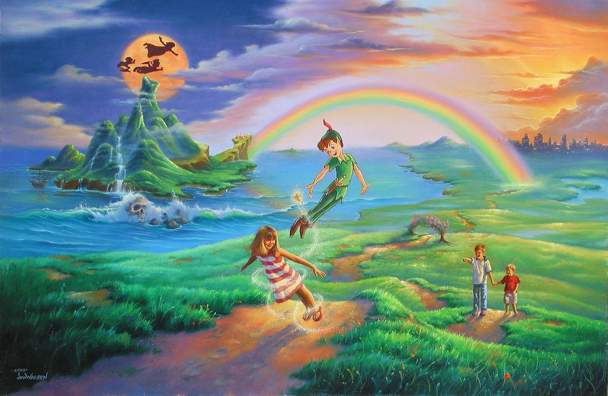 Art Disney: If Only You Believe, New Release, Jim Warren Art, Jim