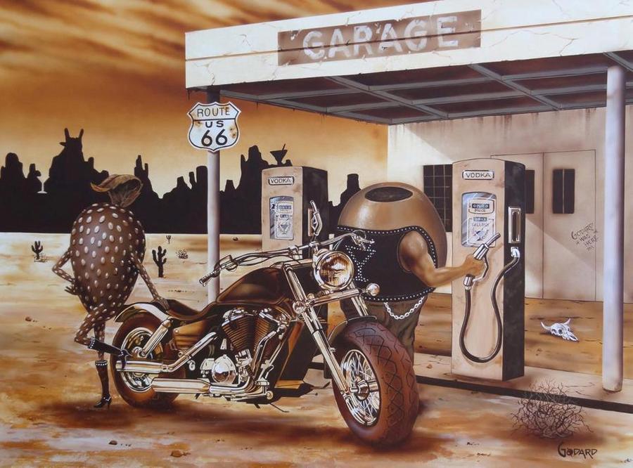 Michael Godard Art Historic Route 66 Very First Quot Of