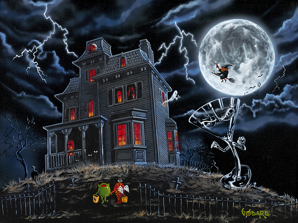 Halloween Haunted House by Michael Godard, Michael Godard Art ...